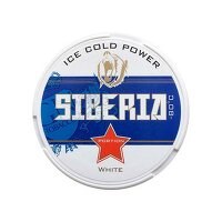 Kautabak Siberia -80° BLUE ICE COLD POWER 13g Dose - 15 Portionen